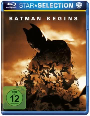 Batman Begins [Blu-ray] [2005] [Region Free]