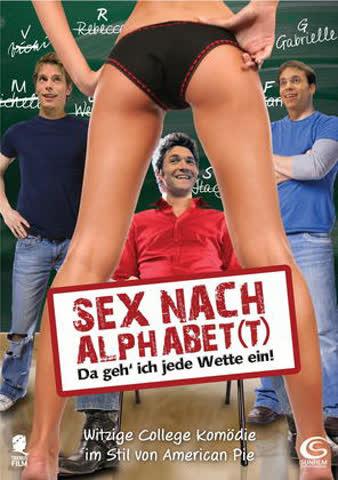 Sex nach Alphabet(t) - Da geh' ich jede Wette ein!