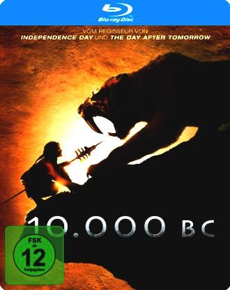 10.000 B.C. Steelbook [Blu-ray]