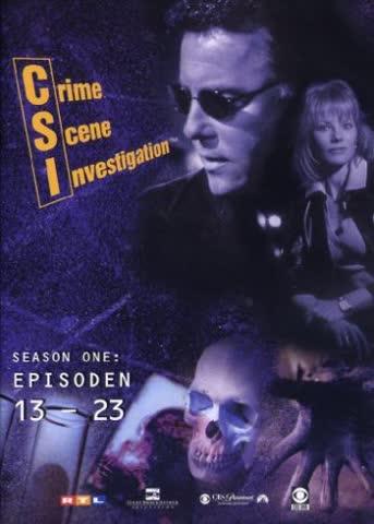 CSI: Crime Scene Investigation - Season 1.2 (Amaray) [3 DVDs]