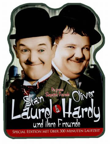 Stan Laurel & Oliver Hardy Metallbox Edition [Special Edition]
