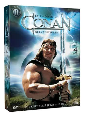 CONAN - Der Abenteurer - Staffel 2 [4 DVDs]
