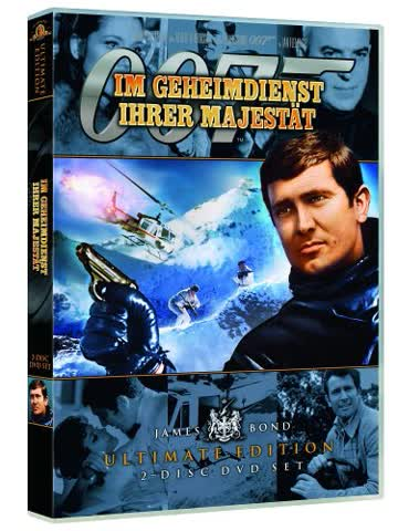 James Bond - Im Geheimdienst ihrer Majestät [2 DVDs]