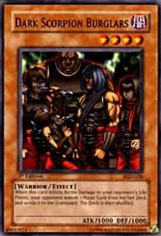 Dark Beginning 2 - Dunkler Skorpion-Einbrecher