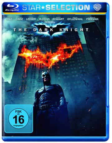 Batman: Dark Knight (BR) 2BRs POSTEN Min: 153DD5.1HD - 1080p Warner [Import germany]