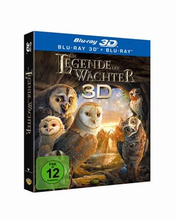 Die Legende der Wächter 3D (+ Blu-ray) [Blu-ray 3D]