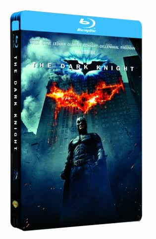 Batman - The Dark Knight (im hochwertigen Steelbook) [Blu-ray]