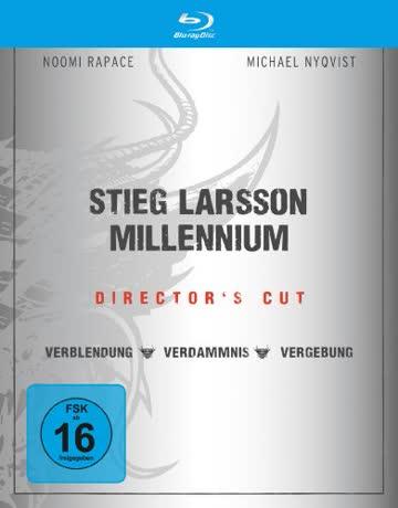 Stieg Larsson - Millennium Trilogie (Director's Cut) [Blu-ray]