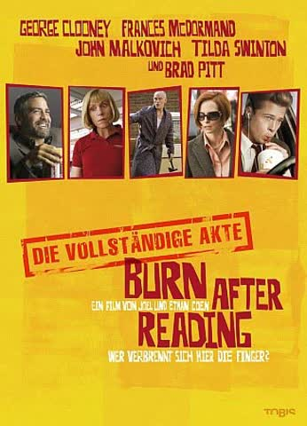 Burn after Reading (DVD) S.E. 2DVDs Min: 144DD5.1WS [Import germany]