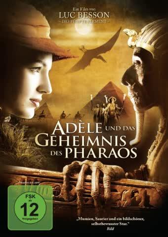 DVD * Adéle und das Geheimnis des Pharaos [Import allemand]