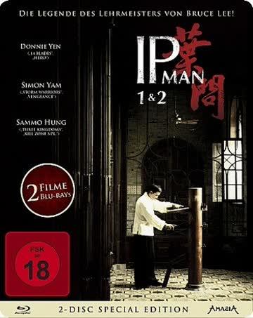 IP Man 1+2 - Steelbook [Blu-ray] BR IP Man 1&2 - 2-Disc Special Edition ltd. Edition STEELBOOK
