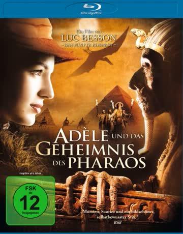 Adele und das Geheimnis des Pharaos [Blu-ray]