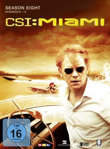 CSI: Miami - Season 8.1 [3 DVDs]