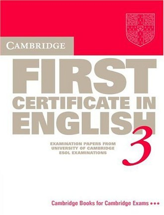 Cambridge First Certificate in English 3: Student's Book: Examination Papers from the University of Cambridge Local Examinations Syndicate (Fce Practice Tests)