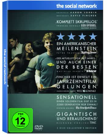 The Social Network [DVD] [2010]