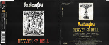 Stranglers - Heaven or hell (Single/Ext. Versions, 1992, plus 'Coffee shop')