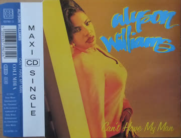 Alyson Williams - Can't have my man [Single-CD]