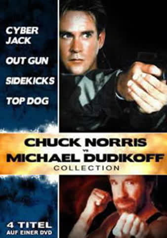 DVD CHUCK NORRIS VS. MICHAEL DUDIKOFF CO