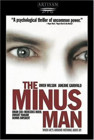 The Minus Man [Import USA Zone 1]