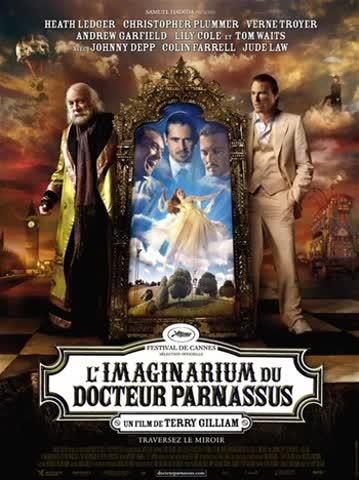 Imaginarium du Docteur Pa-DVD