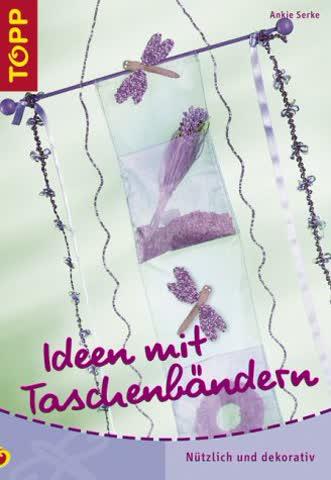 Ideen mit Taschenbändern: Taschenbänder - aussergewöhnliche Fenster- und Wanddekoration