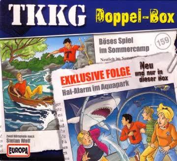 TKKG Doppel-Box / Folge 159 (Böses Spiel im Sommercamp) und Exklusive Folge (Hai-Alarm im Aquapark)