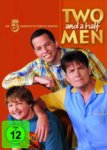 Two and a Half Men: Mein cooler Onkel Charlie - Die komplette fünfte Staffel [3 DVDs]