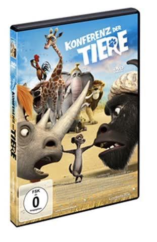 DVD * Konferenz der Tiere [Import allemand]