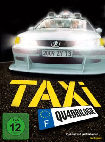 Taxi Qu4drilogie [Special Edition] [4 DVDs]