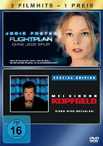 Flightplan - Ohne jede Spur / Kopfgeld, S.E. [2 DVDs]