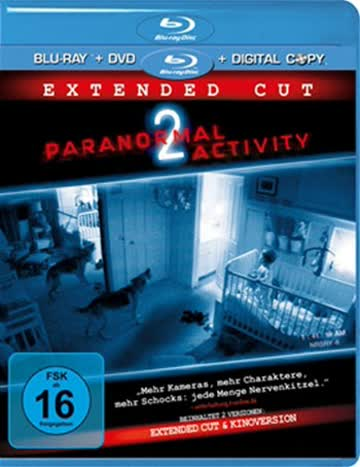 Paranormal Activity 2 (Extended Cut, inkl. DVD + Digital Copy) [Blu-ray]