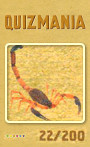 Quizmania - 022 - Skorpion Quizkarte