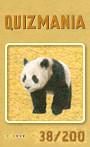 Quizmania - 038 - Grosser Pandabär Quizkarte