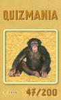 Quizmania - 047 - Schimpanse Quizkarte