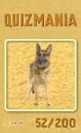 Quizmania - 052 - Schäferhund Quizkarte