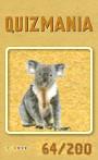 Quizmania - 064 - Koalabär Quizkarte