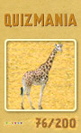 Quizmania - 076 - Giraffe Quizkarte