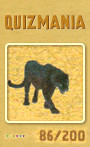 Quizmania - 086 - Schwarzer Panther Quizkarte