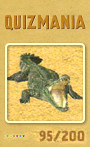 Quizmania - 095 - Krokodil Quizkarte