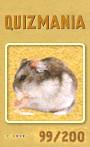 Quizmania - 099 - Hamster Quizkarte