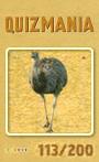 Quizmania - 113 - Emu Quizkarte