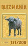 Quizmania - 131 - Wasserbüffel Quizkarte