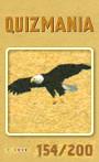 Quizmania - 154 - Adler Quizkarte