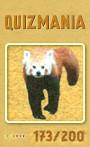 Quizmania - 173 - Kleiner Pandabär Quizkarte