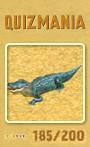 Quizmania - 185 - Aligator Quizkarte