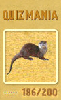 Quizmania - 186 - Otter Quizkarte