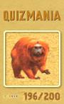 Quizmania - 196 - Löwenaffe Quizkarte