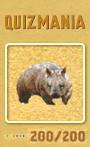 Quizmania - 200 - Wombat Quizkarte