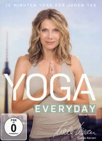 Yoga Everyday (+ Audio-CD) [Deluxe Edition] [2 DVDs]