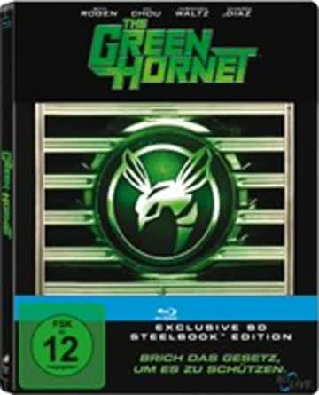 The Green Hornet (Limited Steelbook Edition) [Blu-ray]